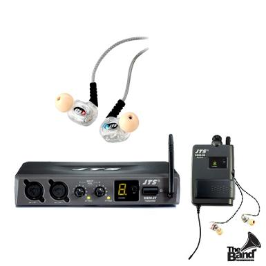 In Ear Monitor JTS SIEM2T System with IE6