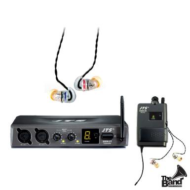 In Ear Monitor JTS SIEM2T System with IE1